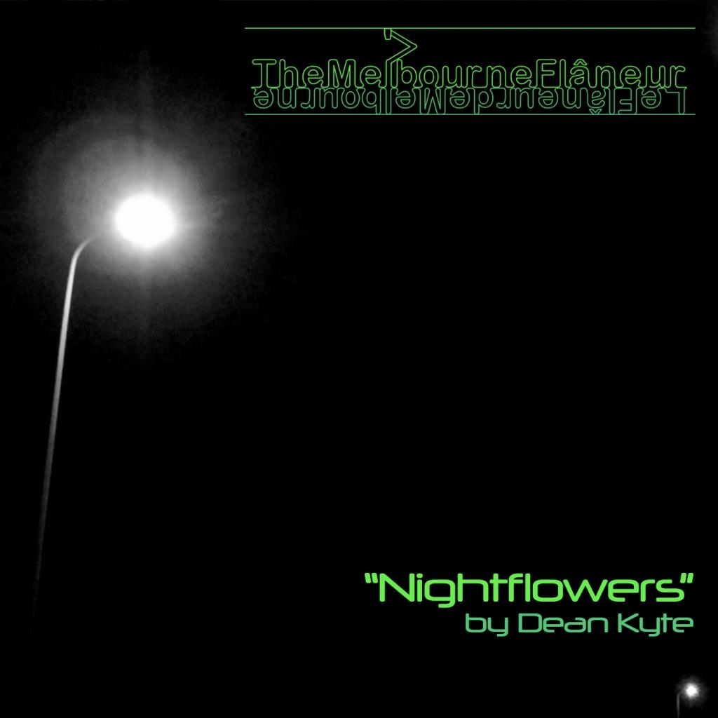 """""""The Melbourne Flâneur"""": """"Nightflowers"""" by Dean Kyte."""
